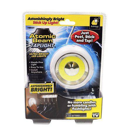 Кнопка -подсветка Atomic Beam Taplight