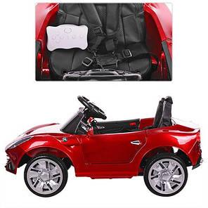 Детский электромобиль Bambi Porsche Red (M 3176 EBLRS), фото 2