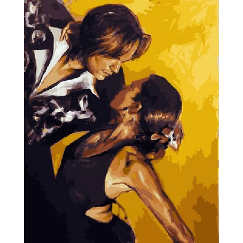 Картина по номерам Танго, 40x50 см., Babylon