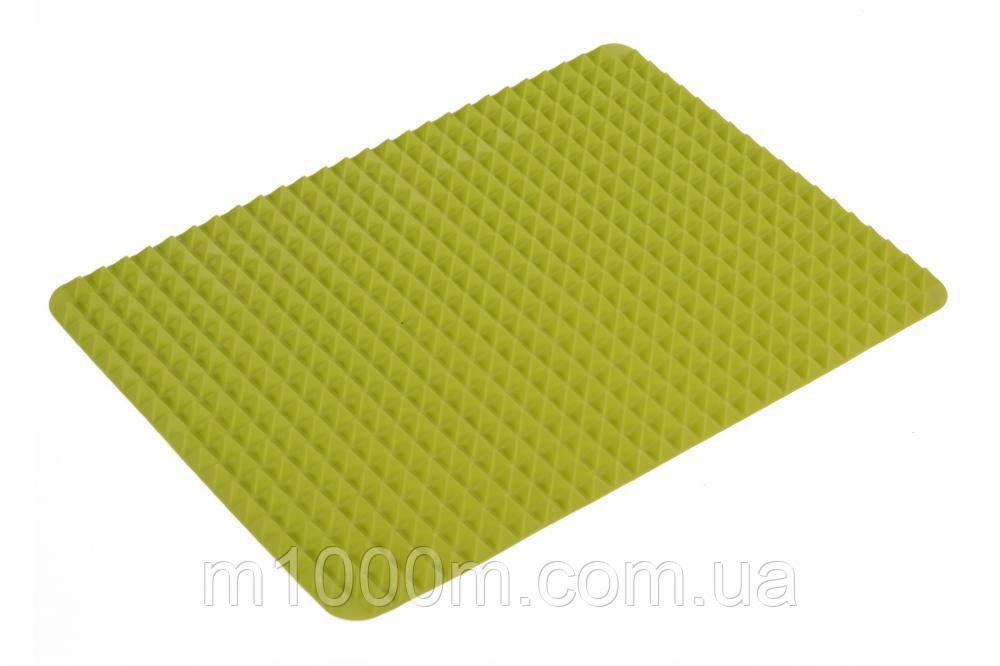 Силіконовий килимок для барбекю Kamille 41*28 КМ 7749