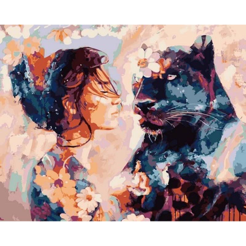 Картина по номерам Ночная красавица. Худ. Димитра Милан, 40x50 см., Babylon