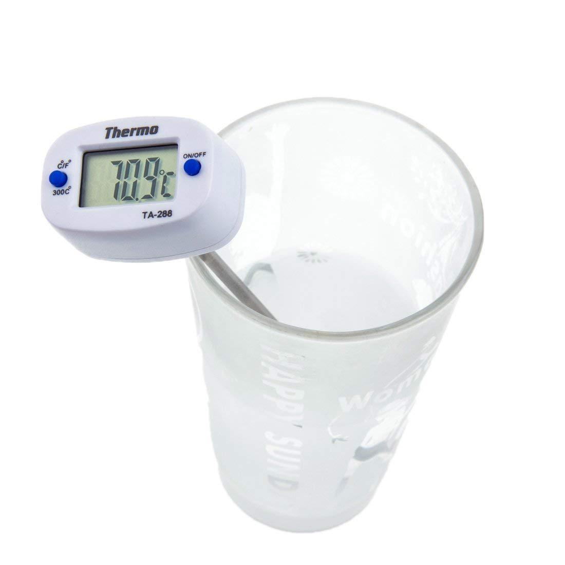 🔝 Кулинарный электронный термометр со щупом Thermo TA-288, Белый, с доставкой по Укриане | 🎁%🚚