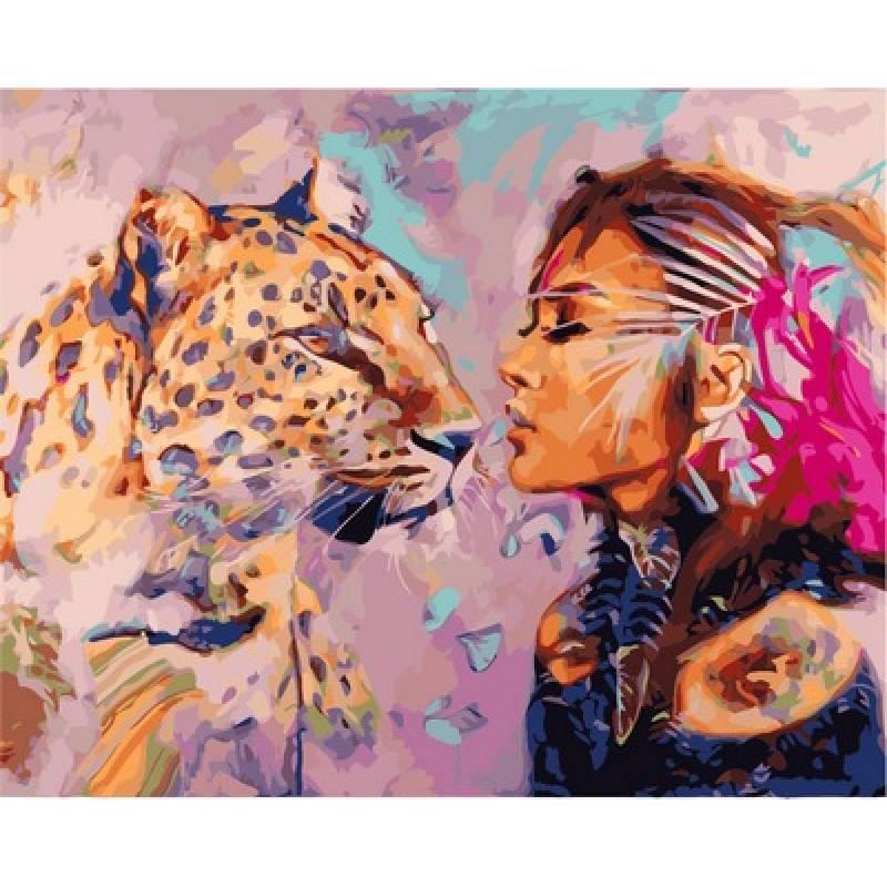 Картина за номерами VP968 Пошуковий поцілунок. Худ. Димитра Мілан, 40x50 см., Babylon