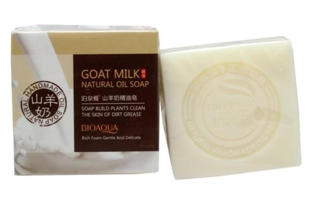 BIOAQUA Goat Milk Oil Soap