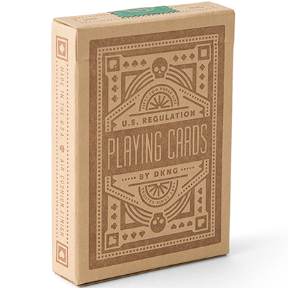 Карты игральные | Green Wheel Playing Cards (Limited Edition) by Art of Play