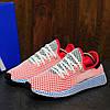 Adidas Deerupt Runner Red Blue (реплика)