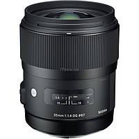 Объектив Sigma AF 35/1,4 DG HSM Nikon (340955)