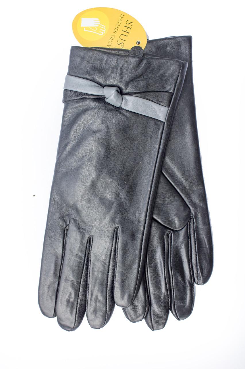 Женские кожаные перчатки 819