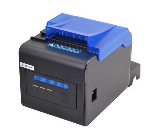 Чековый принтер для Poster Xprinter C300H LAN USB COM обрез чека 80мм звуковой и световой сигнал