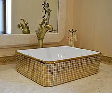 Чаша для ванної кімнати прямокутна 9-009