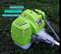 Двигун для мотокоси (бензиновий) 2.8кВт Grunhelm + конус відцентрового щеплення