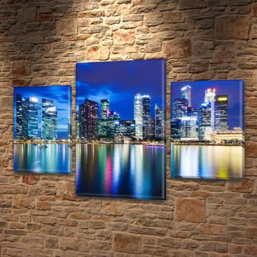 Купить картину дешево в интернет магазине картин, на Холсте син., 45х70 см, (30x20-2/45x25)