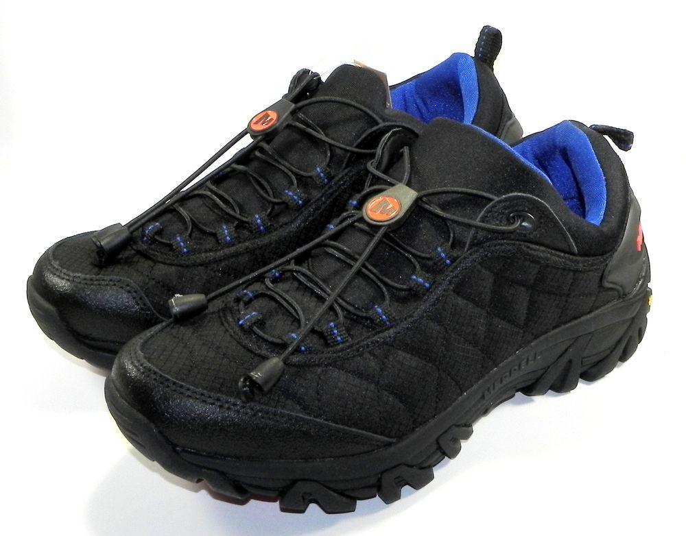 Кроссовки мужские Merrell Continuum Ice Cap Moc 2 Black Blue (Меррелл  Черный 9d63d23814ec7