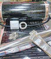 Пленочный теплый пол SH Korea 4x0.5m с терморегулятором, фото 1