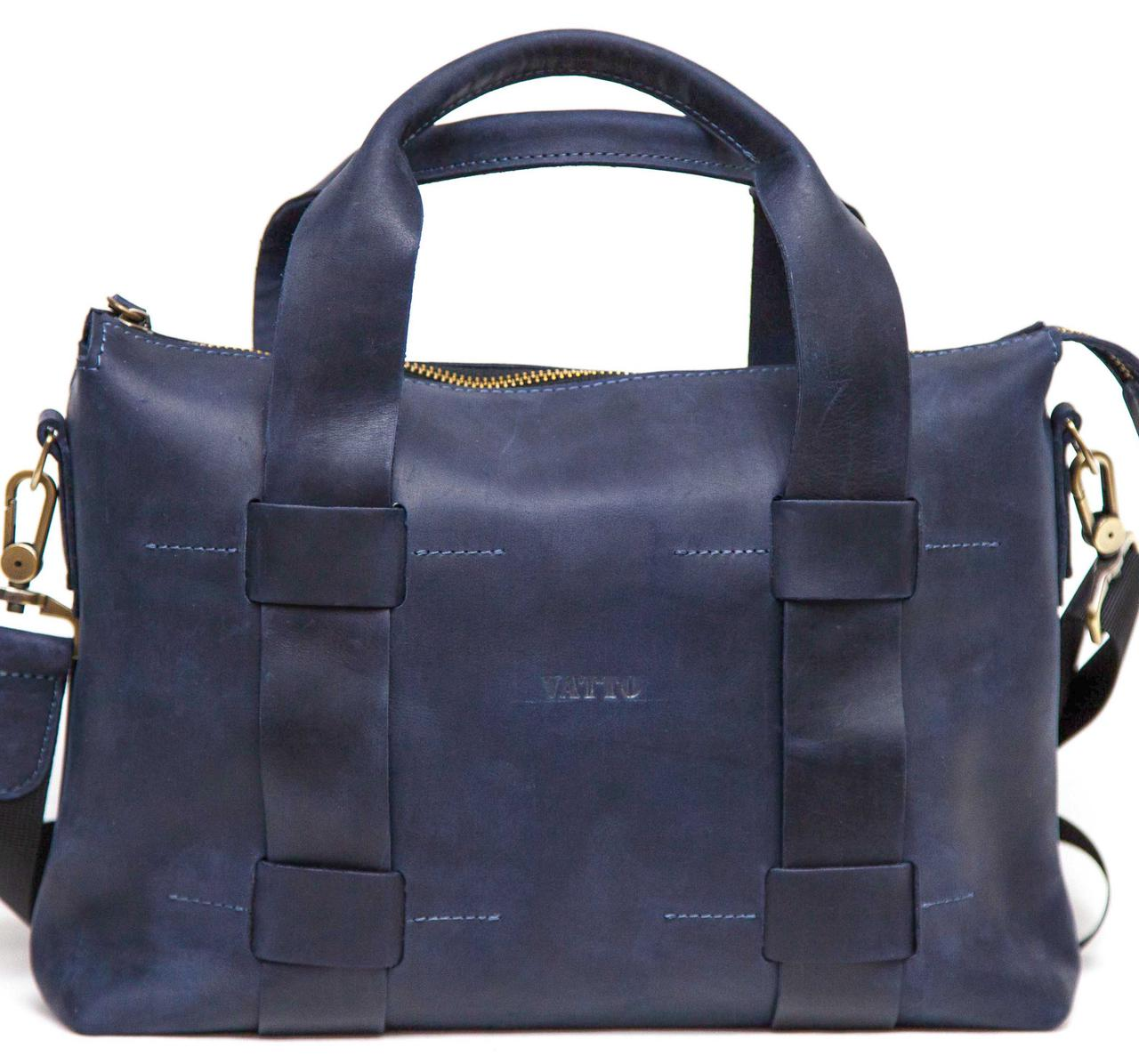 40e258d7 Мужская сумка натуральная кожа синяя: продажа, цена в Днепре ...