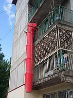 Мусороспуск строительный полимерный
