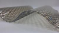 Прозрачный кровельный ПВХ лист Salux Prisma 76/18 2х1,03 м., бронзовая волна