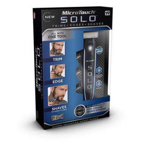 Триммер бритва мужская универсальная MicroTouch SOLO стрижка бороды