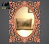 Зеркало настенное Valencia в бронзовой раме, фото 2