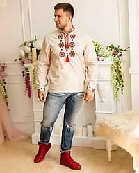 """Мужские сорочки на льне """"Традиции"""""""