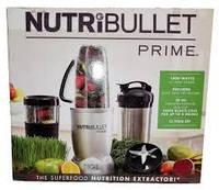 NutriBullet PRIME 12-Предметов 1000W. Метал, фото 1