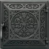 Чавунні дверцята для печі Delta R27 (250х250)