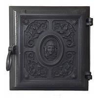 Чавунні дверцята для печі Delta R07 (330х360)