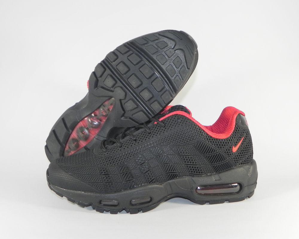 236f68e3 Кроссовки мужские Nike Air Max 95 Black/Red 624519-850 (в стиле Найк ...
