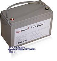 Гелева акумуляторна батарея EuroPower GL 12-100 Аh, фото 1