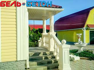 Балюстрада белая в Котовка | Балясины бетонные в Одесской области 7