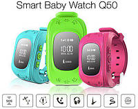 Детские часы телефон SMART BABY WATCH Q50 / GPS Трекер / Прослушка Оригинал, фото 1