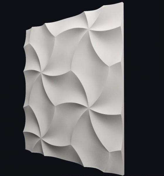 """Гипсовая 3d панель """"Оригами"""""""