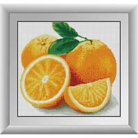 Набор алмазной живописи (квадратные, полная)Апельсин. Dream Art.
