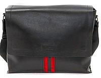 Мужская сумка натуральная кожа черная, фото 1