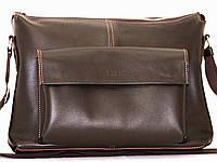 Мужская сумка натуральная кожа коричневая, фото 1
