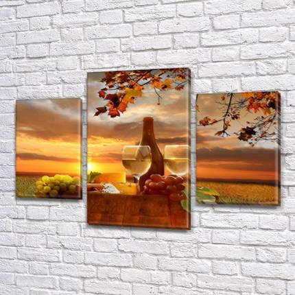 Картины для кухни купить, на Холсте син., 45х70 см, (30x20-2/45x25), фото 2
