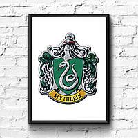 Постер с рамкой Слизерин, Slytherin