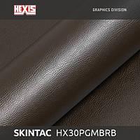 Hexis Grain Leather Сhesnut Gloss имитирующая кожу 1.52 m