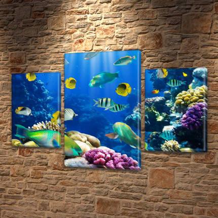 Картины на холсте модульные купить в интернет магазине картин, 45х70 см, (30x20-2/45x25), фото 2