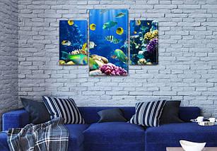 Картины на холсте модульные купить в интернет магазине картин, 45х70 см, (30x20-2/45x25), фото 3