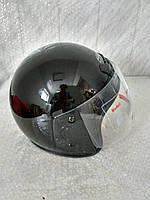 Шлем открытый черный глянцевый F2 размер ХS(53-54)