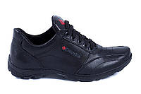 Мужские кожаные кроссовки Columbia ZK (реплика), фото 1