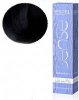 Полуперманентная крем-краска Estel Professional Sense De Luxe, 60 ml 1/0 Черный классический