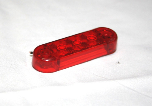 Діодний ліхтар габаритний червоний (3 діода) 0171 для вантажівок(7002)