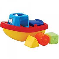 Игрушка-сортер для ванной комнаты «Веселый кораблик»