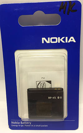 Акумулятор Nokia BP-6X 700mAh (high copy), фото 2