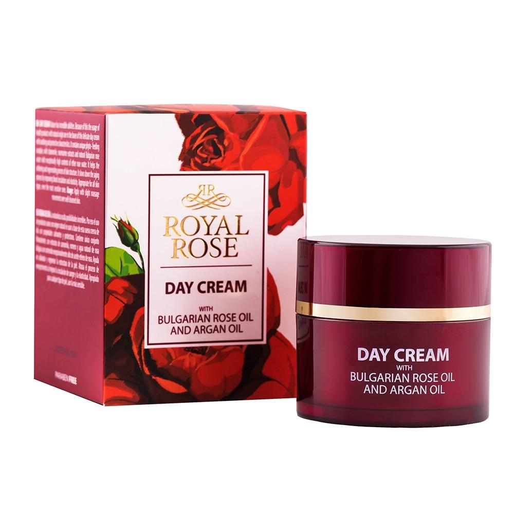 Денний крем з маслом троянди і аргана Royal Rose від BioFresh 50 мл