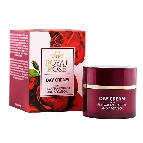 Дневной крем с маслом розы и аргана Royal Rose от BioFresh 50 мл, фото 2
