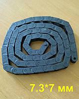 Кабелеукладчик с внутренним размером 7*7.3. Серия MINI