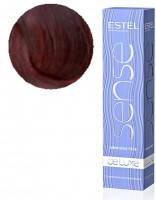 Полуперманентная крем-краска Estel Professional Sense De Luxe, 60 ml 5/5 Светлый шатен красный